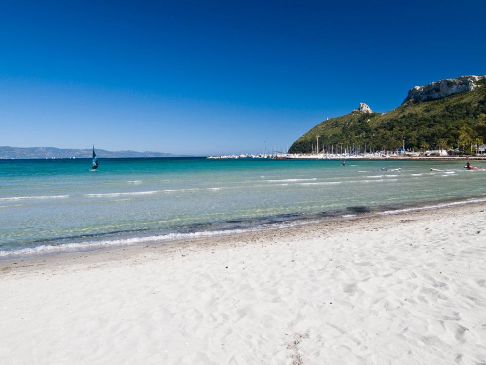 Cagliari strand